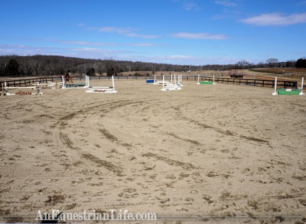 horse jumping course