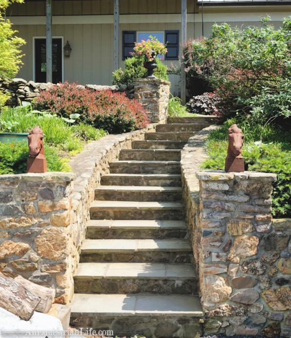 barn steps