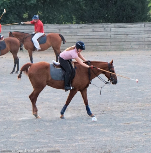 It's hard to time the moving horse with when I need to swing to hit the ball.