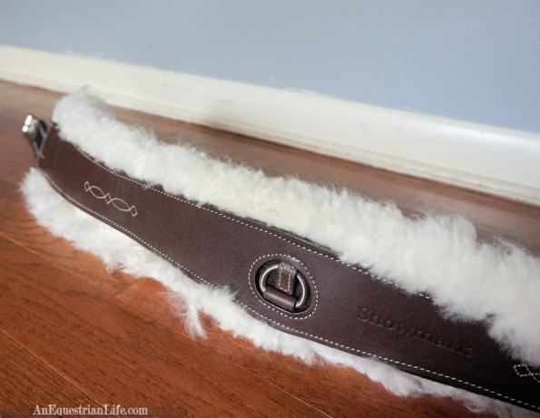 Showmark Sheepskin Lined Girth