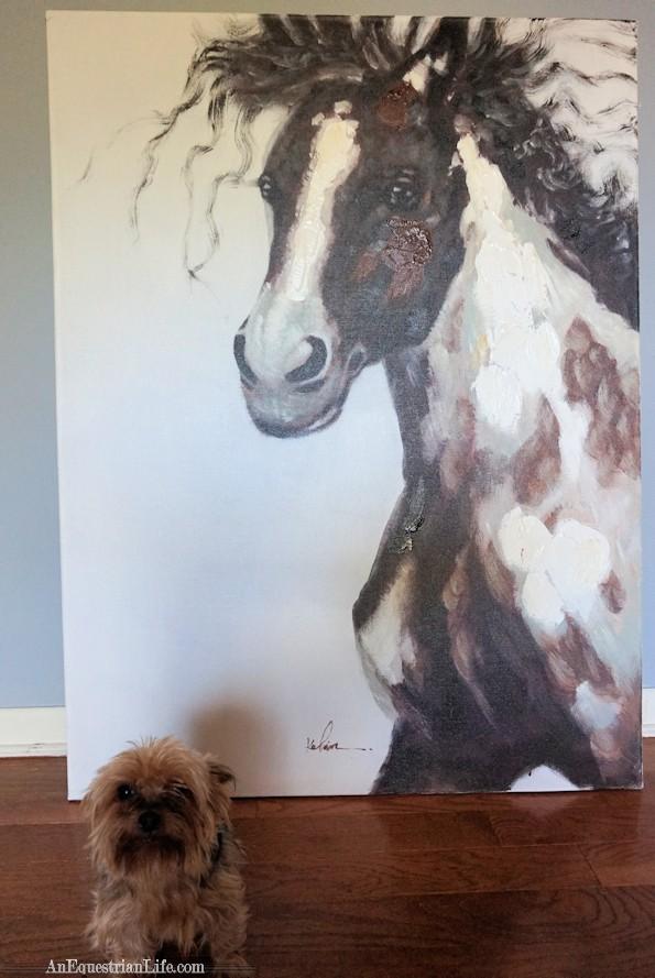 original horse painting