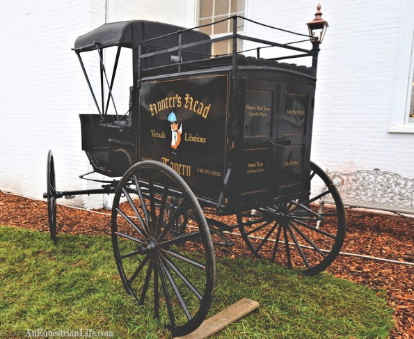Official Hunter's Head carriage has been placed here.