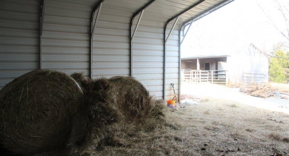 hay storage