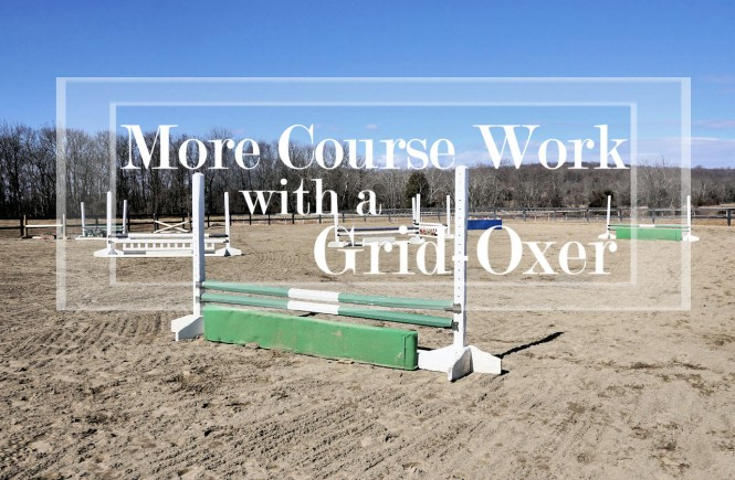 jumping course grid