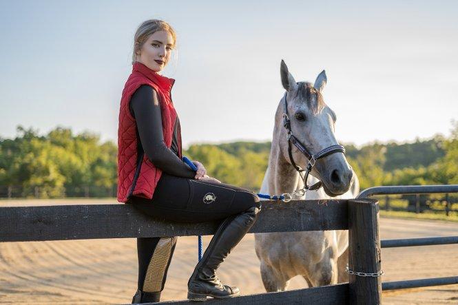 sync equestrian tights